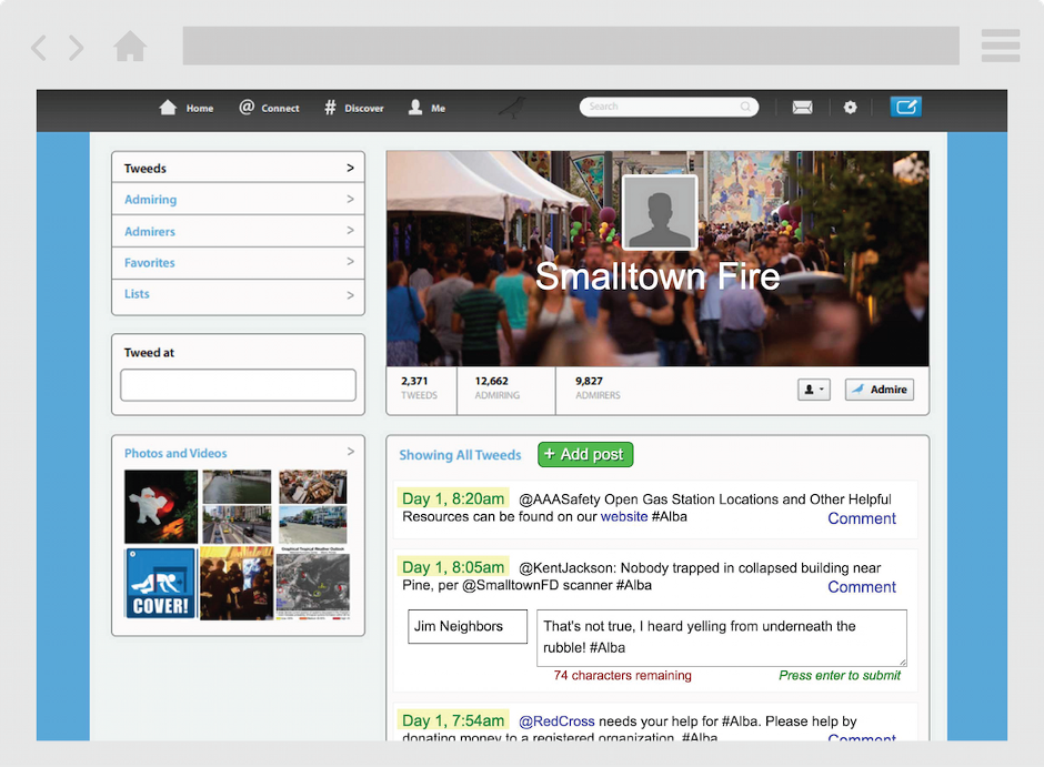 EMSocialSimulation Screenshot